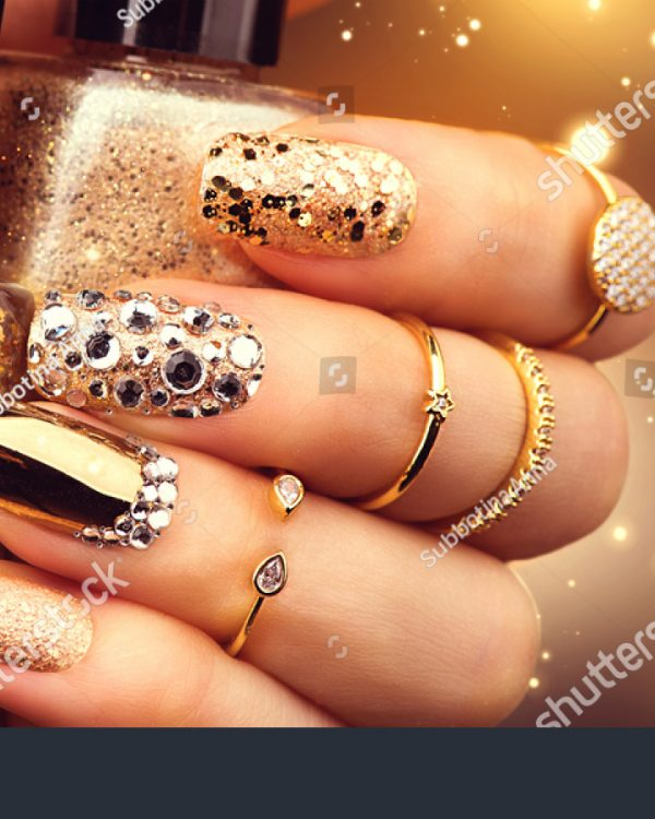 stock-photo-golden-nail-art-manicure-holiday-style-bright-manicure-with-gems-and-sparkles-bottle-of-nail-370116677